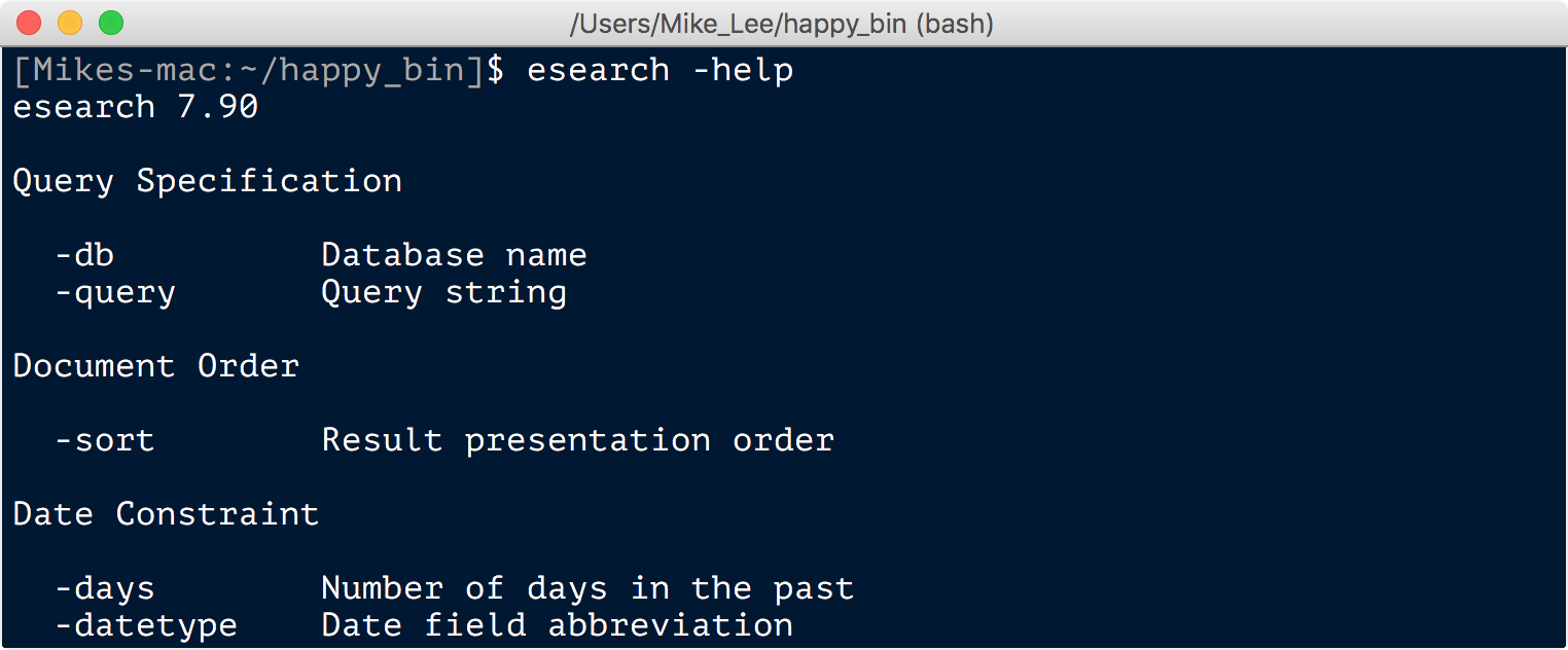 Installing tools at the command line